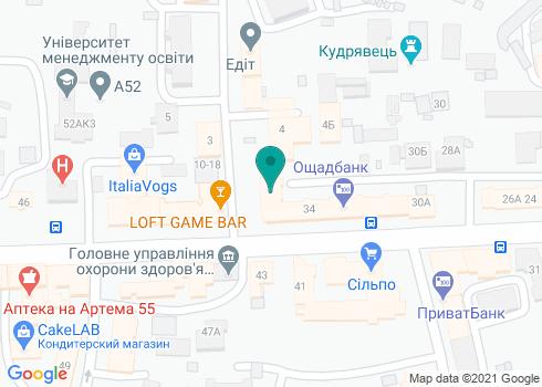 Стоматологическая клиника «Sadent» - на карте