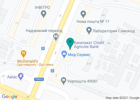 Стоматолог и Я, стоматология на Слобожанском проспекте - на карте