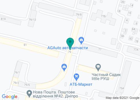 Стоматология на Янтарной - на карте