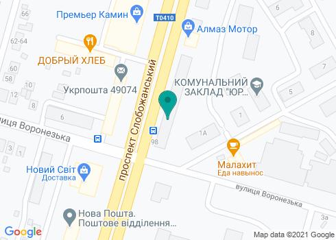 Стоматология Ткаченко - на карте