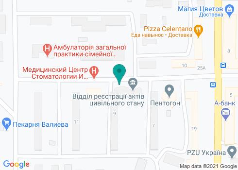 Мегастом, стоматология - на карте