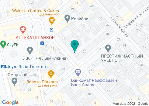 Стоматологическая поликлиника №1, детское отделение №2 - на карте
