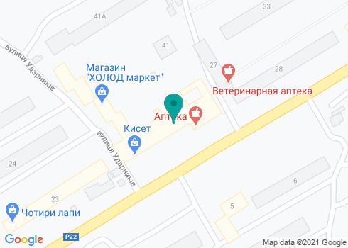 Луганская городская стоматологическая поликлиника №3 - на карте
