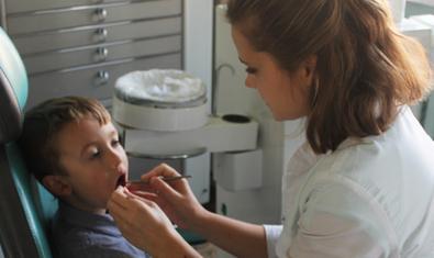 Детская поликлиника №1 Днепровского района г. Киева, Стоматологическое отделение