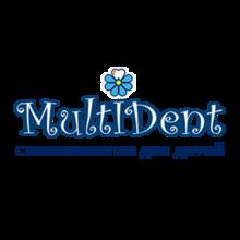 Детская стоматологическая клиника «MultiDent» - логотип