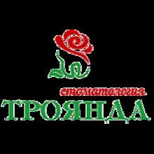 Стоматология «Троянда» - логотип