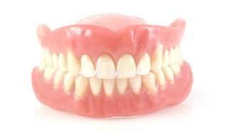Акриловые пластинчатые зубные протезы